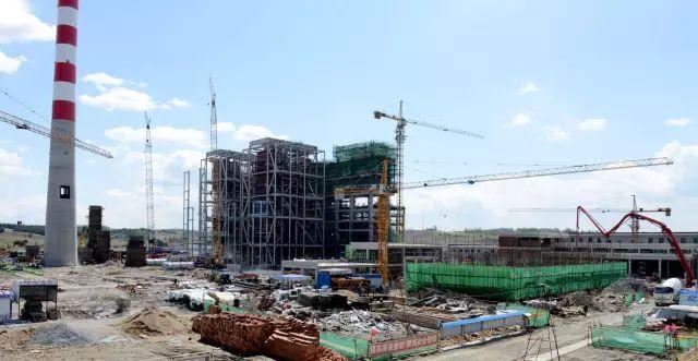 吉林桦甸热电发电工程